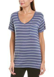 Marc New York Performance Striped Boyfriend T-Shirt