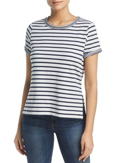 Marc New York Performance Striped High-Low Tee