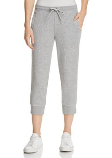 Marc New York Performance Terry Cloth Cropped Jogger Pants