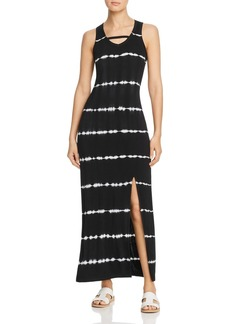 Marc New York Performance Tie-Dyed Jersey Maxi Dress