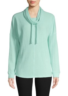 Marc New York Performance Waffle-Knit Tunic