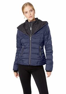 Marc New York Performance Women's 2Tone Puffer Jacket  X Large