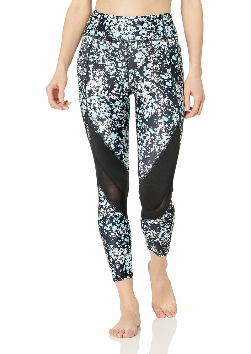 Marc New York Performance Women's 7/8th Length Printed Legging with Mesh