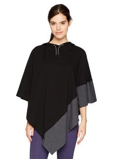 Marc New York Performance Women's Color Block Poncho  L/XL