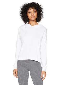 Marc New York Performance Women's Crop Hooded Pullover  Extra Large