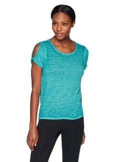 Marc New York Performance Women's Cut Out Shoulder Tee  Extra Large
