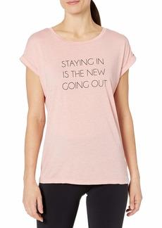 Marc New York Performance Women's Dolman Short Sleeve Graphic tee Shirt