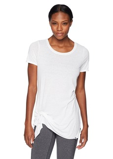 Marc New York Performance Women's Draped Front Tee  Extra Large