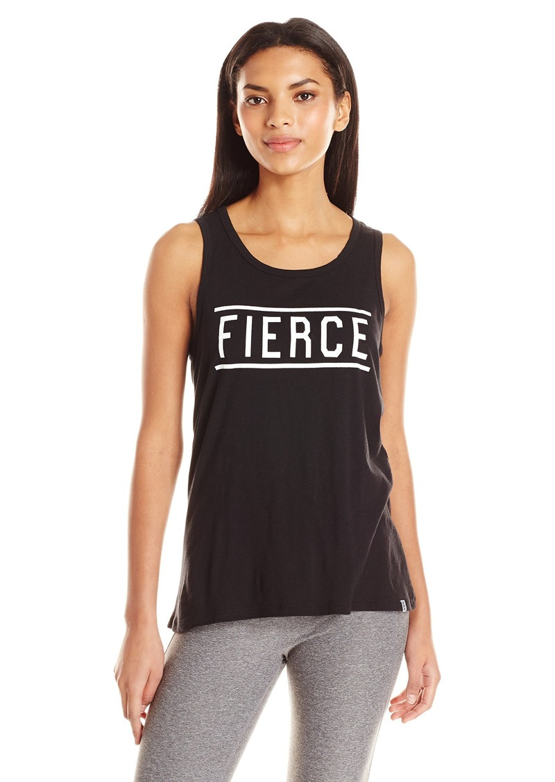 Marc New York Performance Women's High-Low Scoop Neck Tank W/Graphic  L