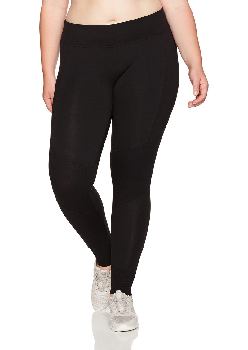 Marc New York Performance Women's Long Legging with Rib Plus Size