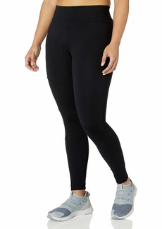 Marc New York Performance Women's Long Ponte Legging with Chevron Seams Plus Size