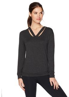 Marc New York Performance Women's Long Sleeve Cold Clavical Sweatshirt  M
