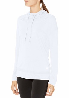 Marc New York Performance Women's Long Sleeve Top with Mesh Trims