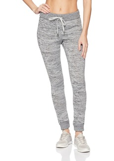 Marc New York Performance Women's Marled Sweater-Knit Jogger Pant  L