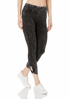 Marc New York Performance Women's Mineral wash 7/8th Legging with twited Key Hole Cuff