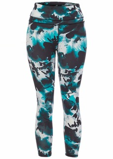 Marc New York Performance Women's Misses Compression 7/8th Length high Waisted Leggings