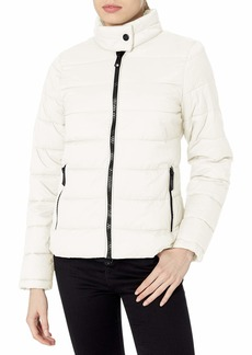 Marc New York Performance Women's Packable Jacket with Giant Zippers