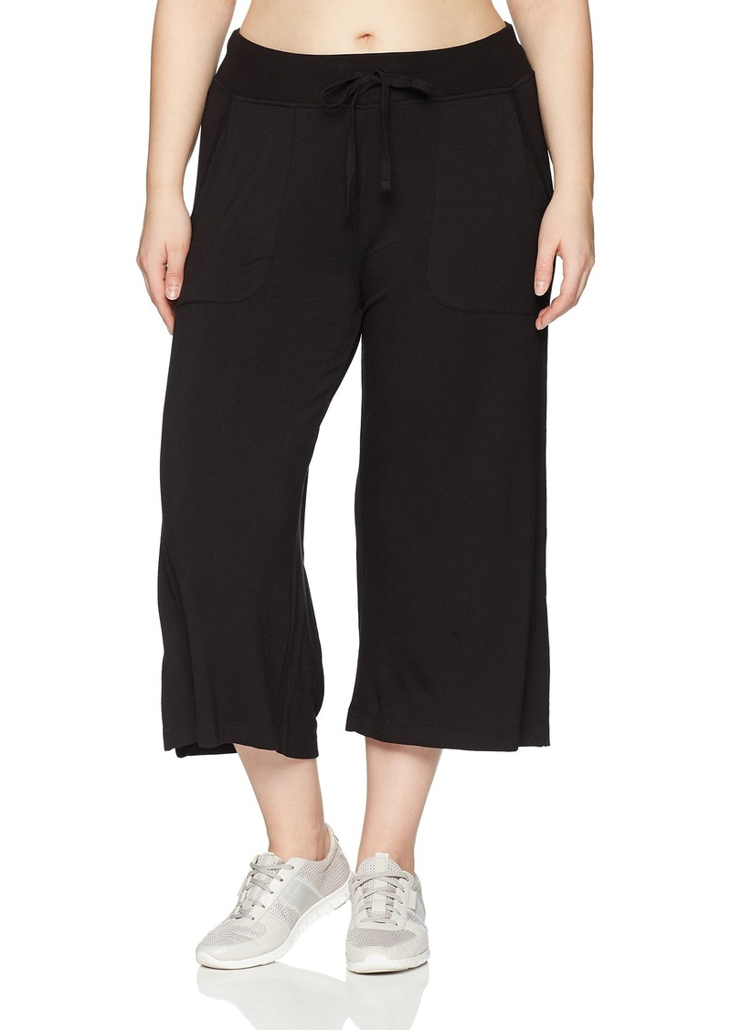 Marc New York Performance Women's Plus Size Drawstring Culottes