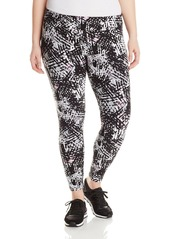 Marc New York Performance Women's Plus-Size Printed Long Legging