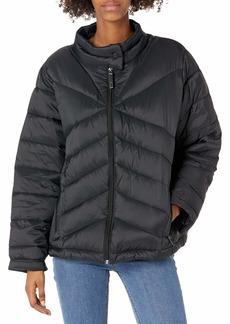 Marc New York Performance Women's Plus Size Super Soft Packable Jacket  Burst 3x