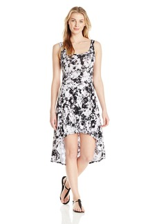 Marc New York Performance Women's Printed High/Low Tank Dress