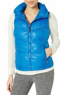 Marc New York Performance Women's Puffy Collar Chevron Vest