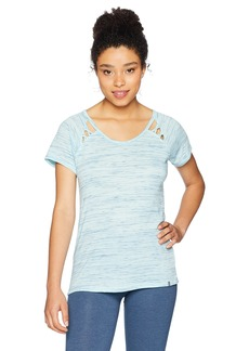 Marc New York Performance Women's Short Sleeve Cold Clavicle Tee  L