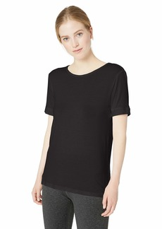 Marc New York Performance Women's Short Sleeve Strappy Back tee Shirt