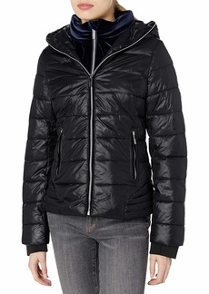 Marc New York Performance Women's Systems Jacket with Velvet Bib and Hood