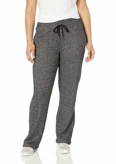 Calvin Klein Women's Textured French Terry Open Bottom Pant