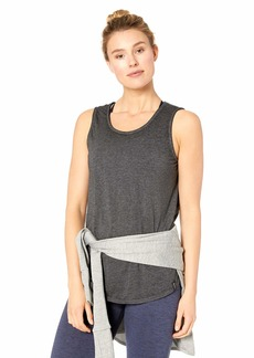 Marc New York Performance Women's Washed Tank with Twisted Back Keyhole