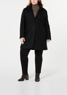 Marc New York Plus Size Paige Boucle Coat