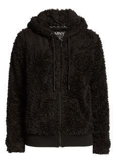 Marc New York Ultrasoft Faux Fur Hoodie