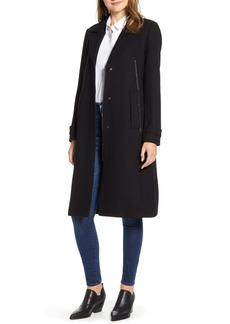 Marc New York Wool Blend Melton Coat