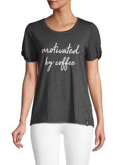 Marc New York Motivated By Coffee Graphic T-Shirt