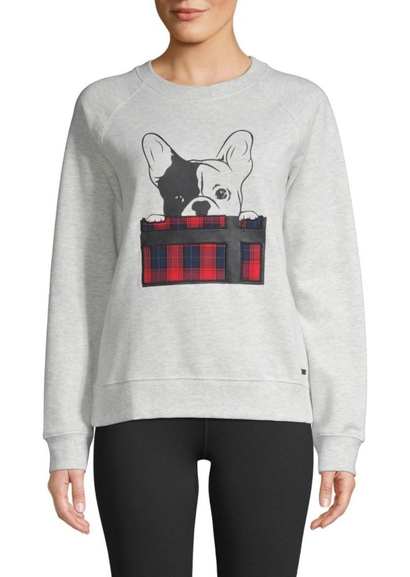 Marc New York Patch Graphic Stretch Sweatshirt