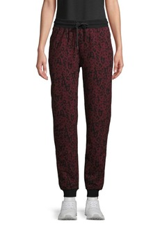 Marc New York Printed Cotton Jogger Pants