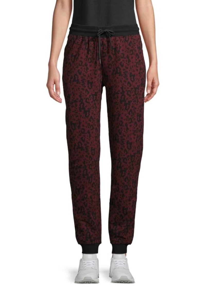 Marc New York Printed Cotton Jogger Pants
