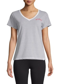 Marc New York Short-Sleeve Striped Tee