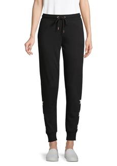 Marc New York Star-Print Cotton-Blend Jogger Pants