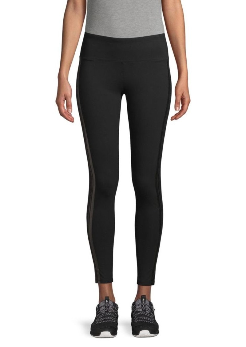 Marc New York Striped Ankle-Length Leggings