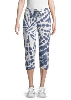 Marc New York Tie-Dye Cropped Drawstring Pants