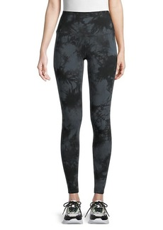 Marc New York Tie-Dyed Stretch-Cotton Leggings
