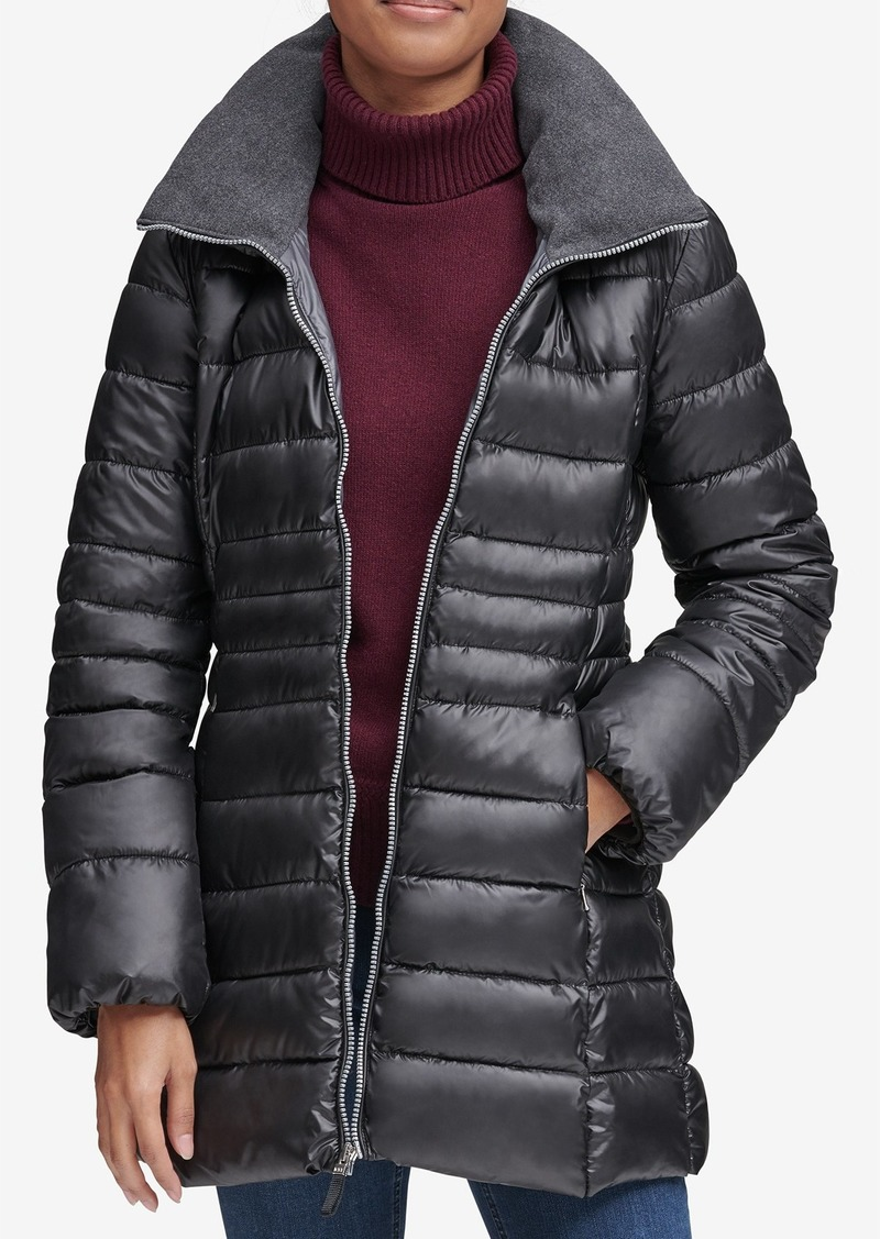 Marc New York Windsor Quilted Puff Parka