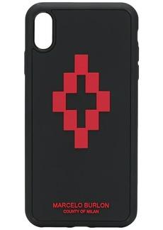 Marcelo Burlon 3D cross logo iPhone XS Max case