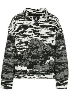 Marcelo Burlon all-over print shirt jacket