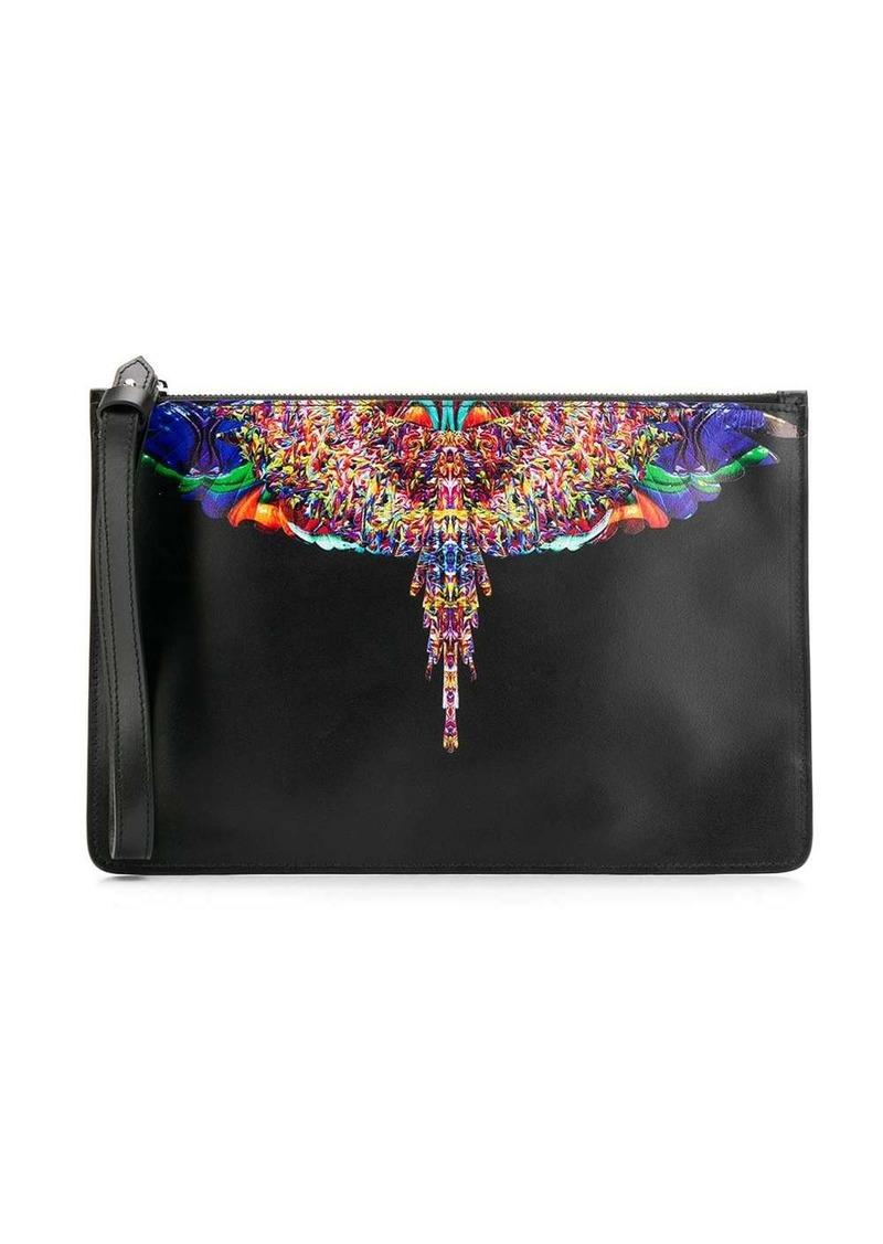 Marcelo Burlon Aztec print clutch bag