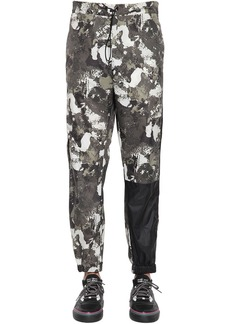 Marcelo Burlon Camo Cross Logo Nylon Track Pants