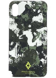 Marcelo Burlon camouflage-print iPhone XS Max case