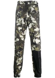 Marcelo Burlon camouflage-print drawstring trousers
